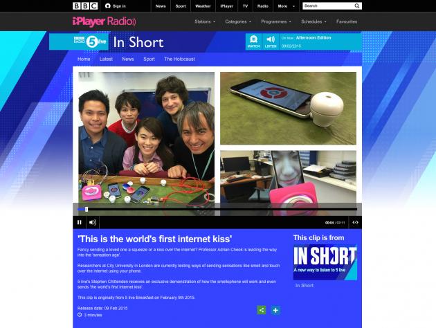BBC Radio Webpage