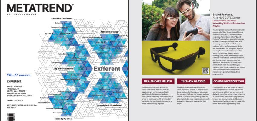 Sound Perfume was featured at MetaTrend magazine