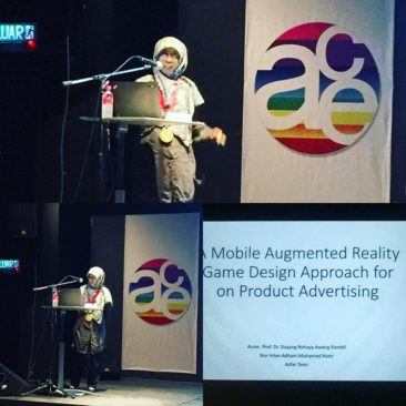 Prof Dayang talks about Augmented Reality Advertising